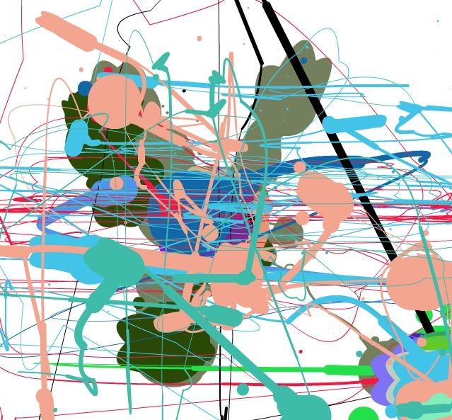Jackson Pollock - Eyes on the Bunny