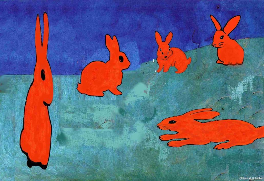 Henri Matisse - Osterhasen